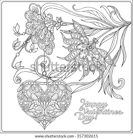older valentines day coloring pages - photo#36