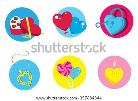 Happy valentine day love heart gift 357684344 love heart gift romantic days cartoon vector illustration negle Gallery