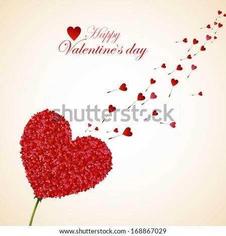 Happy Valentine's Day - stock vector
