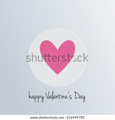 happy day love heart holiday card