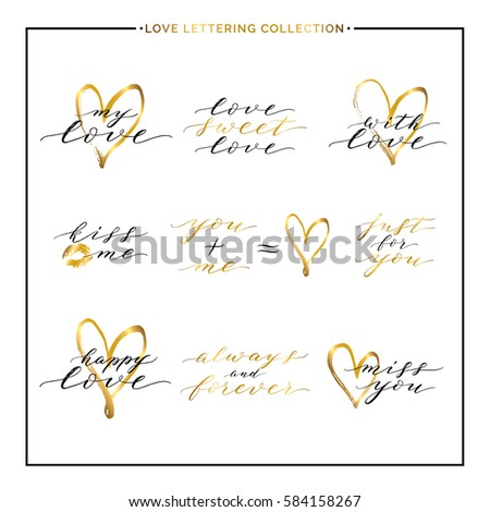happy valentines day phrases quotes love stock vector 584158267, Ideas