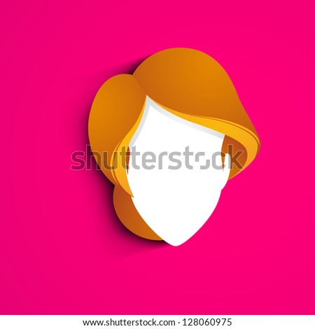 Happy Women's Day greeting card or background - stock vector