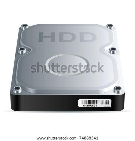 Hdd Hard Drive Hard Disk Drive Hdd Vector
