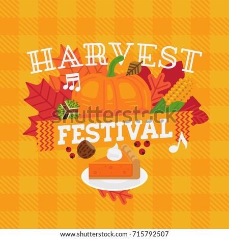 harvest fest flyers
