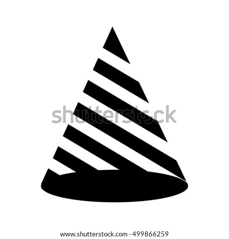 hat birthday isolated icon vector illustration design
