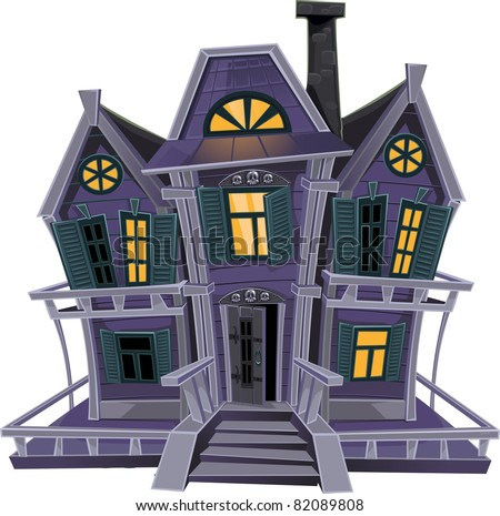 Haunted House Cartoon Images