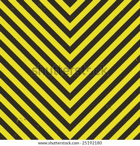 Hazard stripes texture that tiles seamlessly as a pattern in any direction. - stock vector