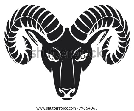 Ram Logo Vector Ram Stock Photo...