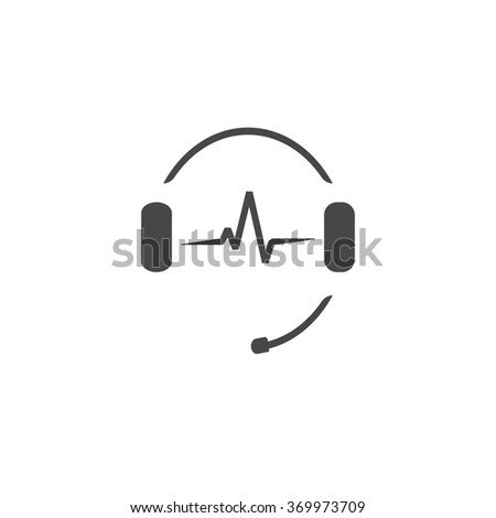 Headphone Emblem Stock Images, Royalty-Free Images ...