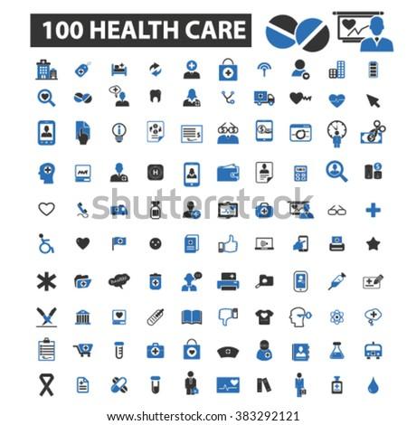 health care icons, health care logo, health care vector, health care flat illustration concept, health care infographics, health care symbols,   - stock vector