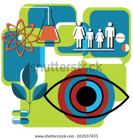 healthcare, hospital and medical concept - stock vector