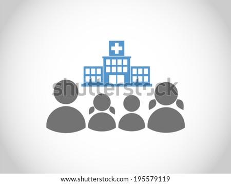 healthy family - stock vector