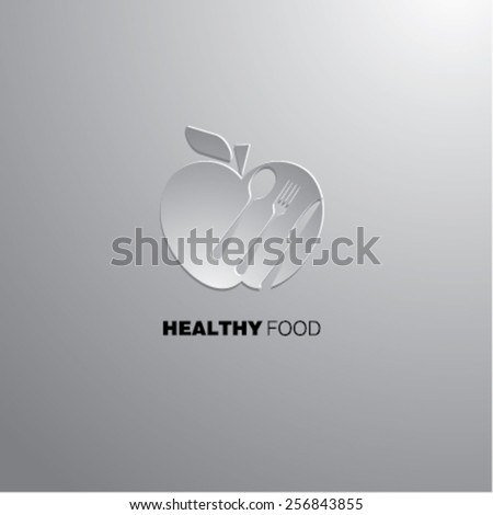 Healthy food - stock vector
