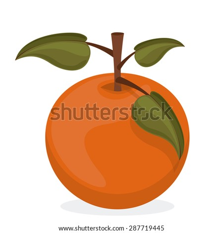 Healthy food design over white background, vector illustratio,