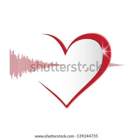 Heart health - stock vector