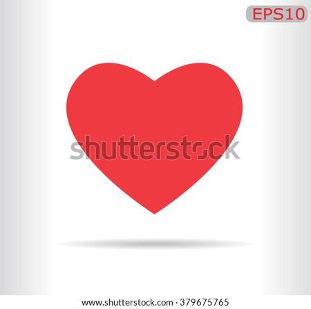 Heart Icon Vector red. Heart Icon JPEG. Heart Icon Object. Heart Icon Picture. Heart Icon Image. Heart Icon Graphic. Heart Icon Art. Heart Icon JPG. Heart Icon EPS. Heart Icon AI. Heart Icon Drawing. - stock vector