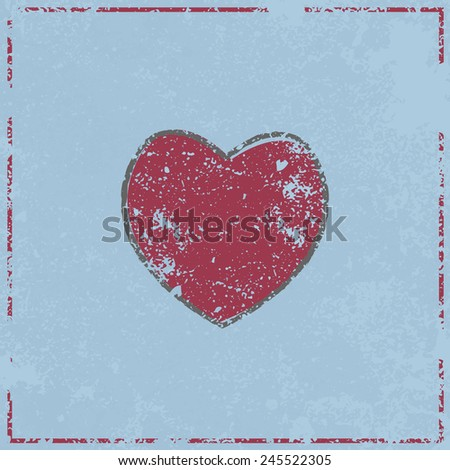 heart love symbol design, vector illustration