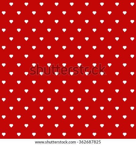 heart pattern seamless background - stock vector