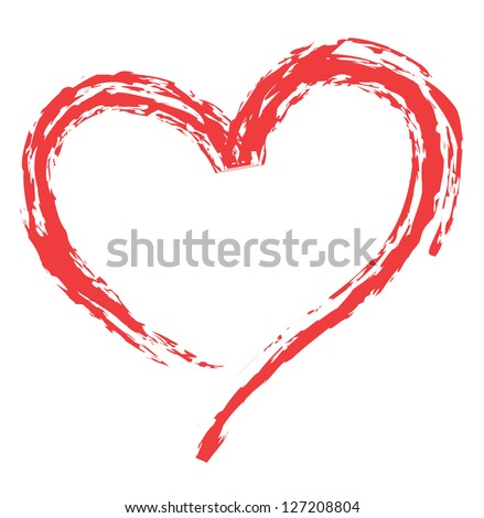 heart shape design for love symbols.