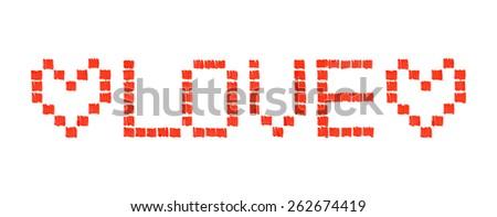 Heart. Vector illustration - stock vector
