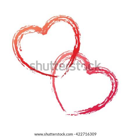 Heart vector love. Heart vector red. Heart vector icon. Heart vector sketch. Heart vector outline. Heart vector shape. Heart vector drawing. Heart vector outline. Heart vector couple. Heart vector art - stock vector