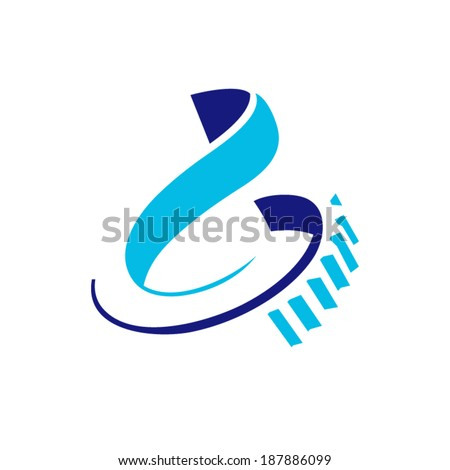 Heavy industry sign Branding Identity Corporate vector logo design template Isolated on a white background - stock vector
