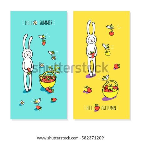 Never Stop Growing Bunny Rabbit Baby Stock Vector 514575493 - Shutterstock