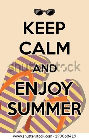 Hello Summer Sunny Background, Illustration In Vector Format.