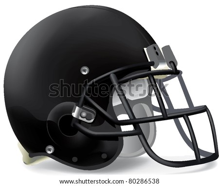 helmets football team - stock vector