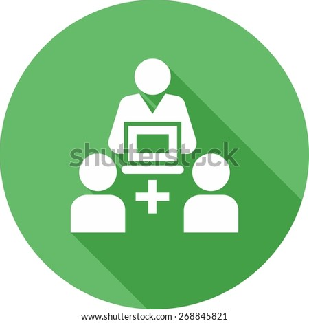 Help, support, service, contact icon vector image. Can also be used for eCommerce, shopping, business. Suitable for web apps, mobile apps and print media. - stock vector