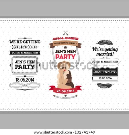 Hen party ivitation