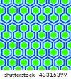 Hexagonal Pattern - stock photo