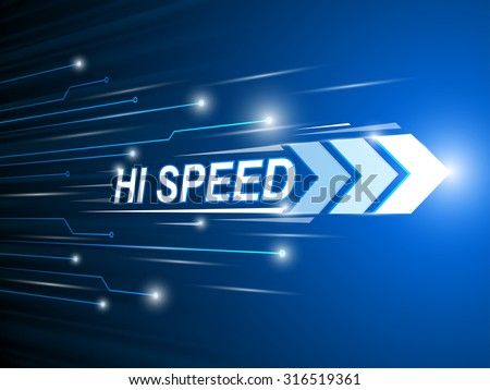 hi-speed network digital.technology abstract background vector  - stock vector