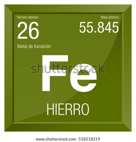 the chemical description of iron chemical number 26 A chemical element, atomic number 26, atomic weight 55847, symbol fe see table 6 iron is chiefly important to the animal body because it is the main constituent of hemoglobin, cytochrome, and other components of respiratory enzyme systems.