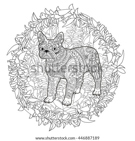 Sick Puppy Coloring Pages