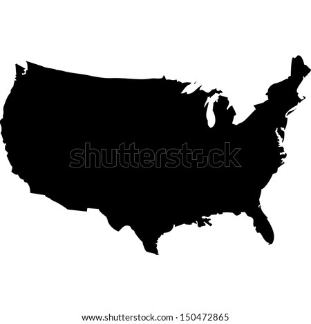 Usa Map Vector Stock Images RoyaltyFree Images Vectors