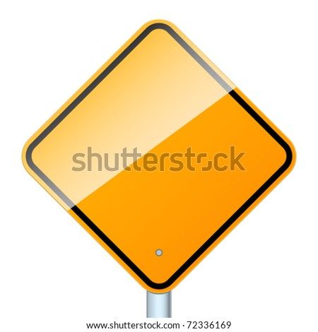 High-detailed vector sign isolated on a white background.