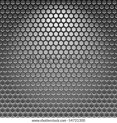 High quality vector steel texture. - stock vector
