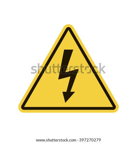 High Voltage, High Voltage Sign Vector,  High Voltage Sign App, High Voltage Sign UI, High Voltage Sign Art, High Voltage Sign Web, High Voltage Sign JPG, High Voltage Sign JPEG, High Voltage Sign EPS - stock vector