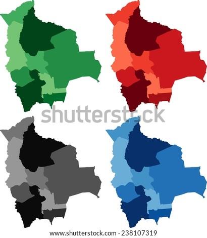 Bolivia Map Stock Images RoyaltyFree Images Vectors Shutterstock