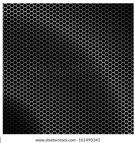 Hightech carbon background - stock vector