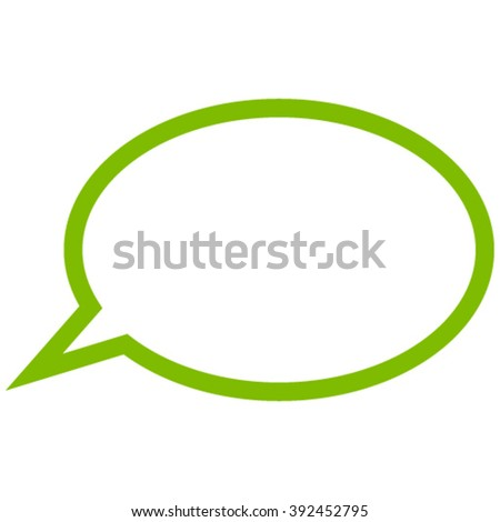 Hint Cloud vector icon. Style is flat icon symbol, eco green color, white background.