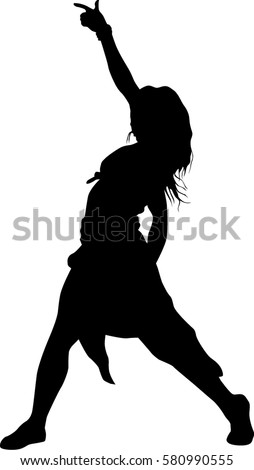 Dancer Silhouette Stock Images, Royalty-Free Images ...