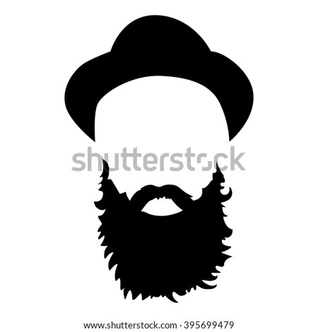 Bearded Cap Cartoon