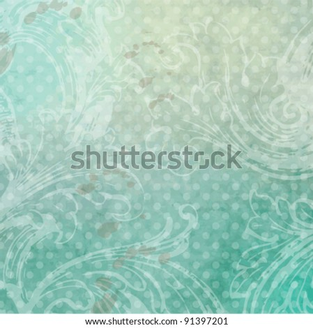 Historical background with copy space - stock vector
