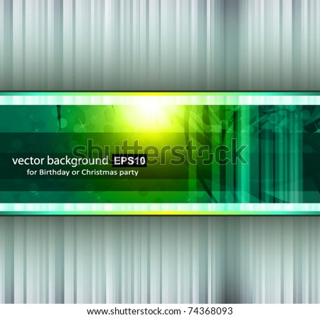 Hitech Abstract Business Background with Abstract Glowing motive - stock vector