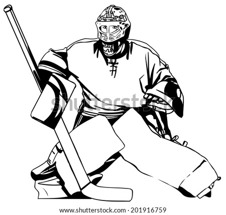 Hockey - stock vector