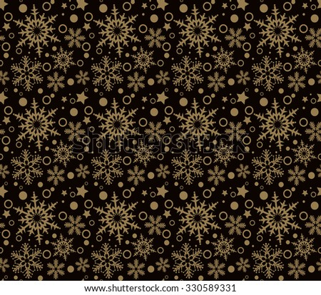Holiday Background, Snowflake Abstract Background, Snowflake Pattern, snowflake background, snowflake template, snowflake designs, snowflake decorations, Christmas Decoration, Dark Background - stock vector