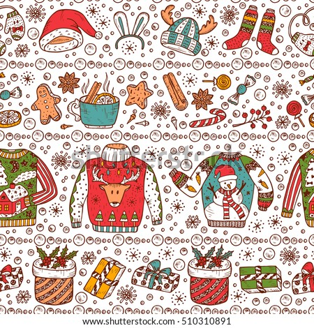 Christmas Sweaters Background