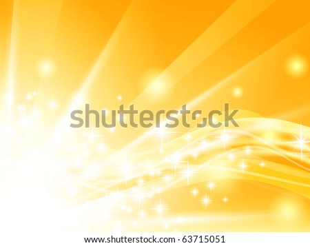 holiday background with shining stars and copyspace - stock vector